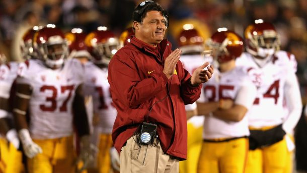 """LSU coach Ed Orgeron on not getting the USC job: """"To hell ..."""