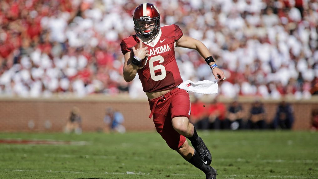 Baker Mayfield turns to high school smack talk against ...