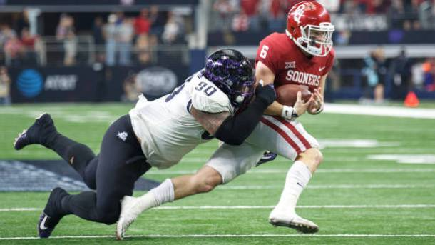 COLLEGE FOOTBALL: DEC 02 Big 12 Championship Game - Oklahoma v TCU