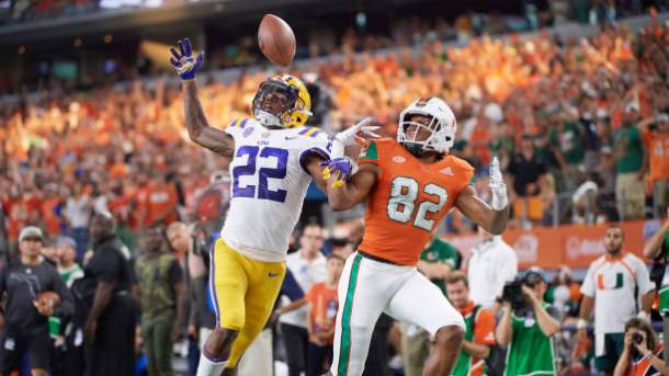 Louisiana State University vs University of Miami
