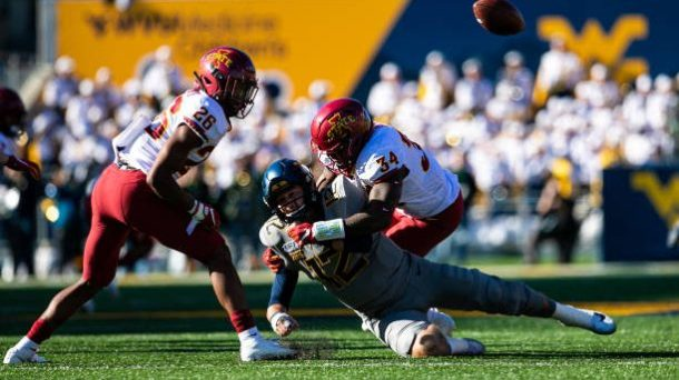 west virginia qb austin kendall questionable for oklahoma homecoming