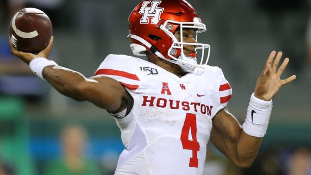 Former Houston quarterback D'Eriq King is heading to Miami.