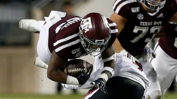 Texas A M Football Could Be Down To One Scholarship Rb