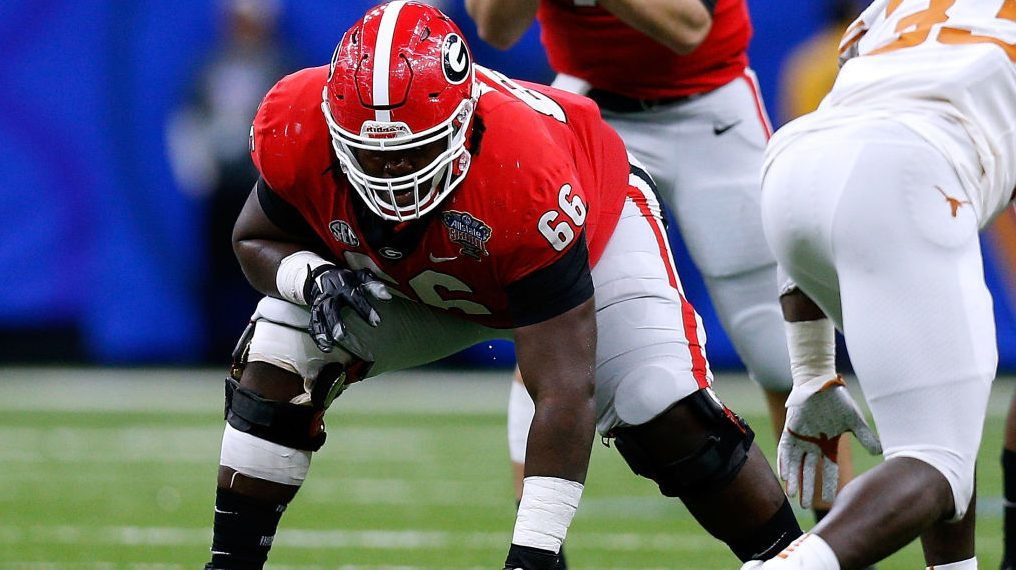Georgia losing third starting offensive lineman early to 2020 NFL Draft