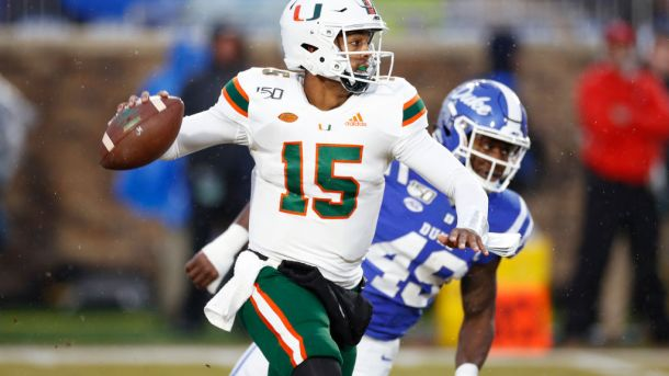 Miami QB Jarren Williams could be entering the transfer portal.