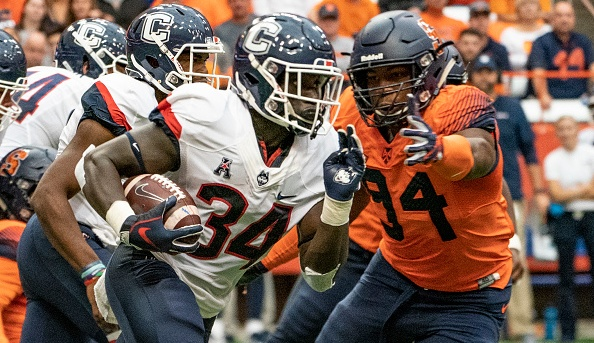 UConn and Syracuse have agreed to a future four-game football series beginning in 2022.