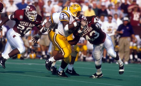 LSU loses RBs coach Tommie Robinson to Texas A&M, promotes Kevin Faulk - CollegeFootballTalk | NBC Sports
