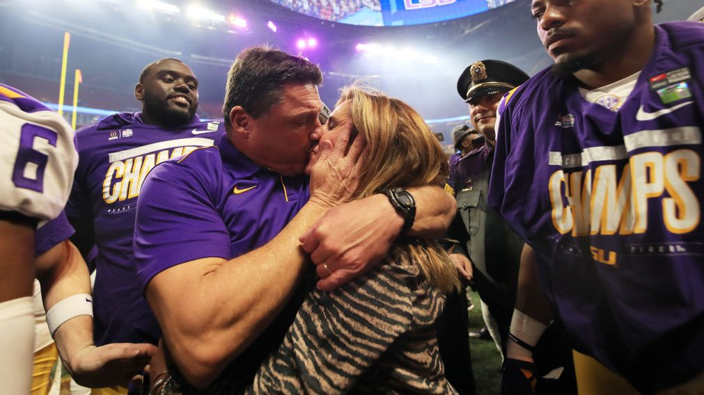 Ed Orgeron, wife Kelly divorcing after 23 years of marriage