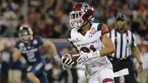 New Mexico State Football Sees Wr Anthony Muse Enter Transfer Portal