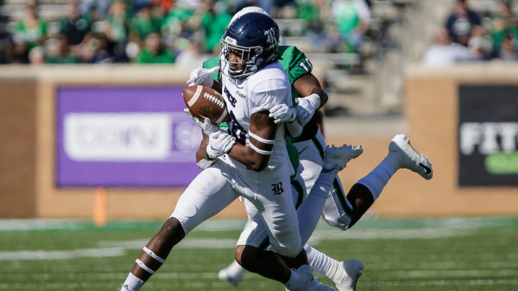 Hawaii football adds second grad transfer WR, this one from Rice